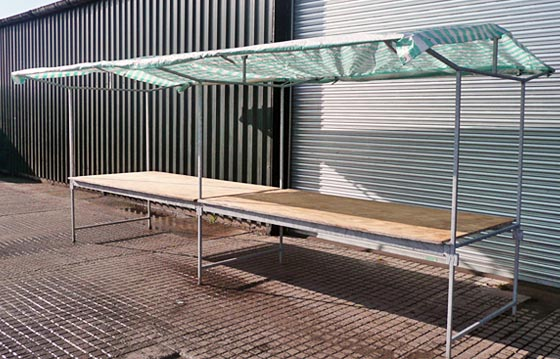 Indalo Marquees Market stall hire
